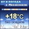 Ну и погода в Михайловске - Поминутный прогноз погоды